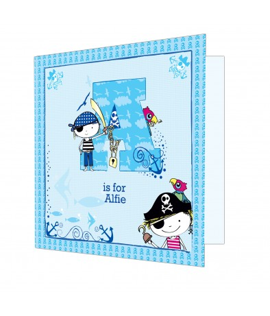 Personalised Card - Pirate (Boys)