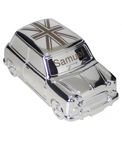 Personalised Union Jack Mini Moneybox