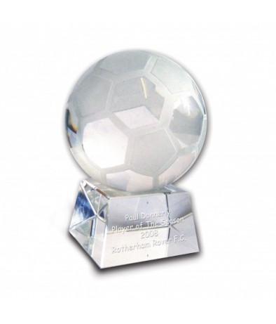 Personalised Trophy � Football