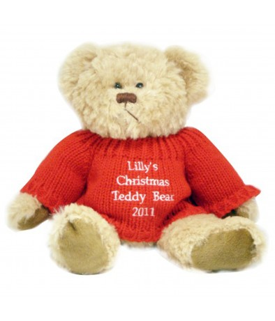 Personalised Teddy - Christmas Teddy