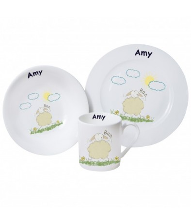 Personalised Breakfast set - Baa