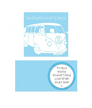 Personalised Card for Campervan Fans