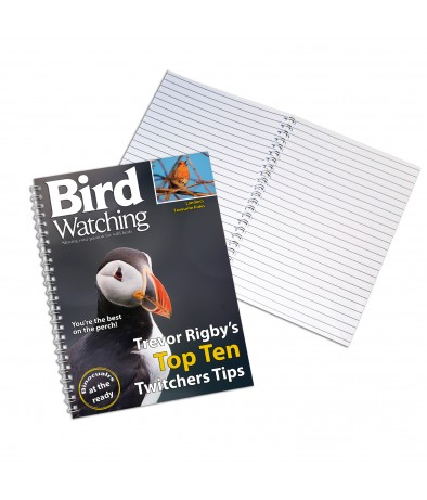 Personalised Bird Watching - A4 Notebook