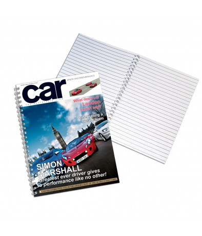 Personalised Car - A4 Notebook