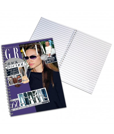 Personalised Grazia - A4 Notebook