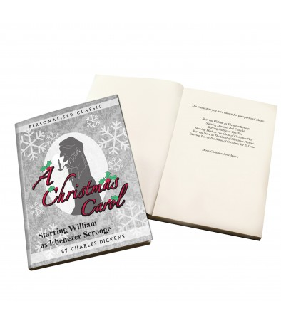 Personalised Story Book - A Christmas Carol (6 Names)