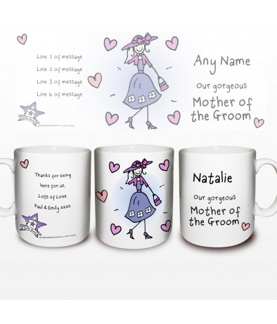 Engagement Gifts From Parents Of The Groom : ... Mug - Purple Ronnie Wedding (Mother of the Groom) - Just for Gifts