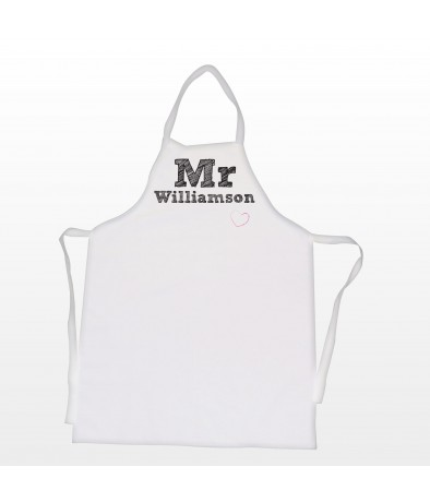 Personalised Apron � Men's (Mr)
