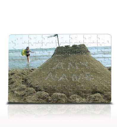 Personalised Jigsaw - Sand Castle