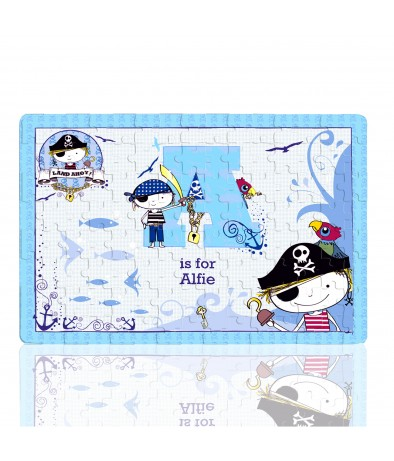 Personalised Jigsaw - Pirate (Letter)