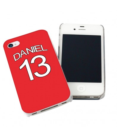 iPhone Case - Arsenal Style Shirt