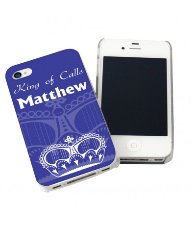 iPhone Case - Blue Crown