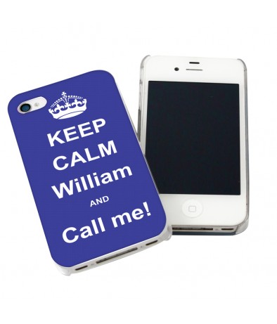 iPhone Case - Blue Keep Calm