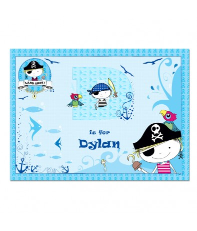Placemat Pirate