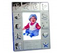 Personalised Silver Baby Photoframe