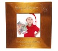 Personalised Merry Christmas Holly Frame