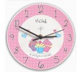 Personalised Clock � Cupcake