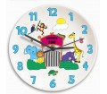 Personalised Clock � Children's (Zoo)