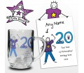 Personalised Purple Ronnie Age Young Male Tankard