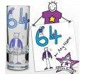 Personalised Purple Ronnie Age Elder Male Shot Glass
