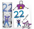 Personalised Purple Ronnie Age Young Male Shot Glass