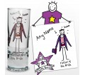 Personalised Purple Ronnie Wedding Father of the Bride Shot Glass