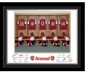 Personalised Arsenal Dressing Room Frame