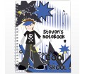 Personalised Too Cool Boy A5 Notebook