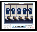 Personalised Frame - Everton Dressing Room