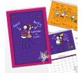 Personalised Calendar - Purple Ronnie (Couples)