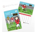 Personalised Calendar - Football Crazy