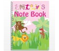 Personalised Girls Notebook - Animal Alphabet