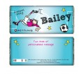 Personalised Bang on the Door Football Crazy Chocolate Bar