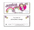 Personalised Bang on the Door Rainbow Groovy Chic Chocolate Bar