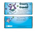 Personalised Chocolate Bar - Purple Ronnie (Groovy Grandad)