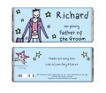 Personalised Chocolate Bar � Purple Ronnie (Wedding - Father of the Groom)