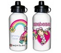 Personalised Girls Drinks Bottle - Bang on the Door (Groovy Chick)