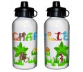 Personalised Drinks Bottle - Animal Alphabet (Boys)