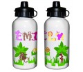 Personalised Drinks Bottle - Animal Alphabet (Girls)