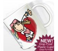 Personalised Plastic Cup - Bang on the Door (Groovy Chick)