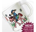 Personalised Plastic Cup - Bang on the Door (Pony Girl)