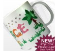 Personalised Plastic Cup - Animal Alphabet (Girls)
