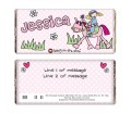 Personalised Bang on the Door Pony Girl Chocolate Bar