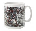Personalised Mug 1945 - 1948 New Popular Edition Map