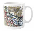 Personalised Mug Present Day Edition Map