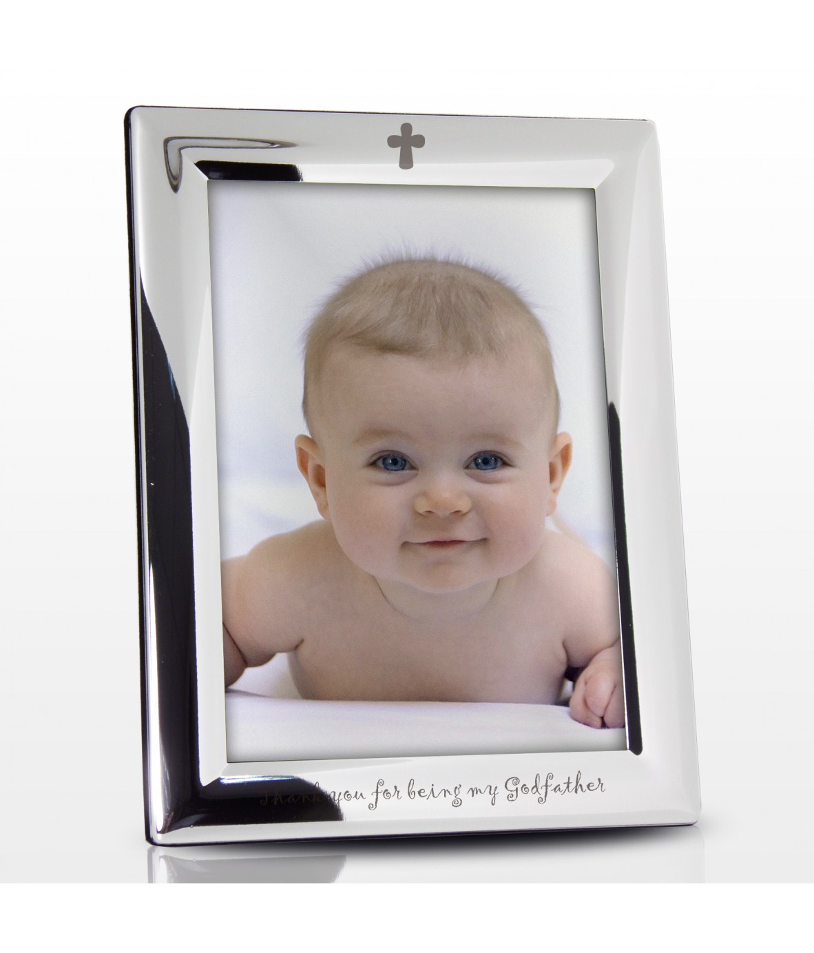 Personalised Silver Frame - Godfather - Just for Gifts