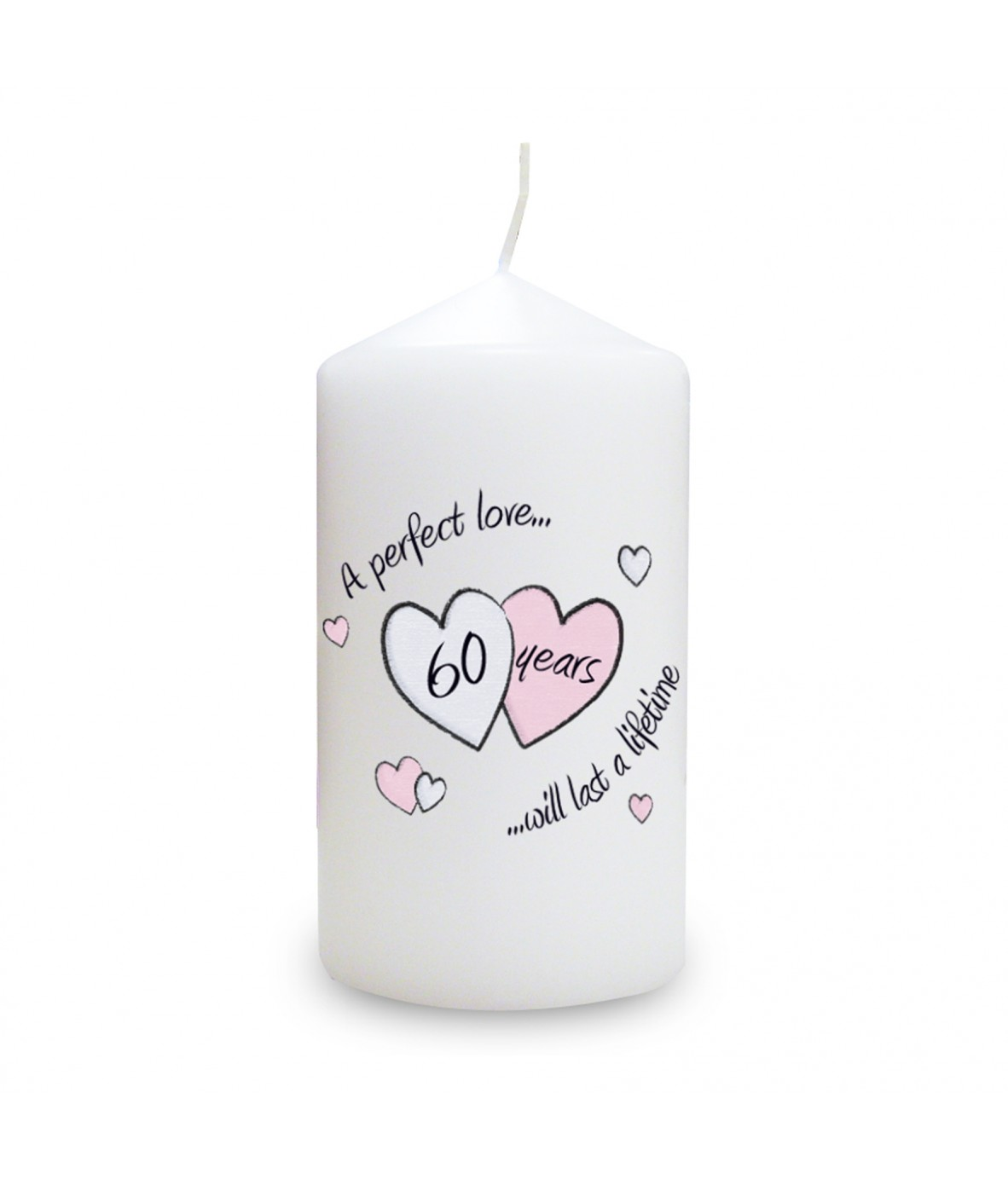 ... keepsake candle which makes a perfect gift for a diamond anniversary.