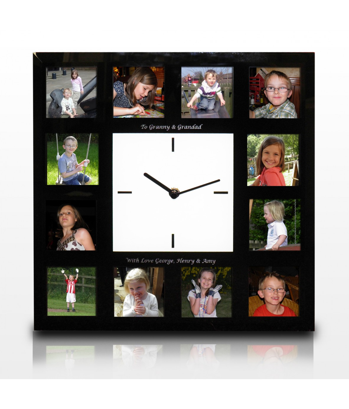 personalised clock photo frame loading zoom