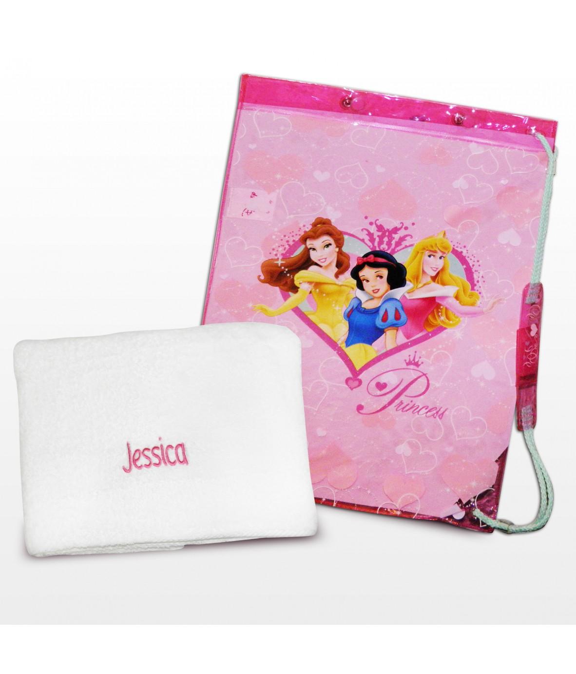 Princess Swim Bag And Personalised Towel