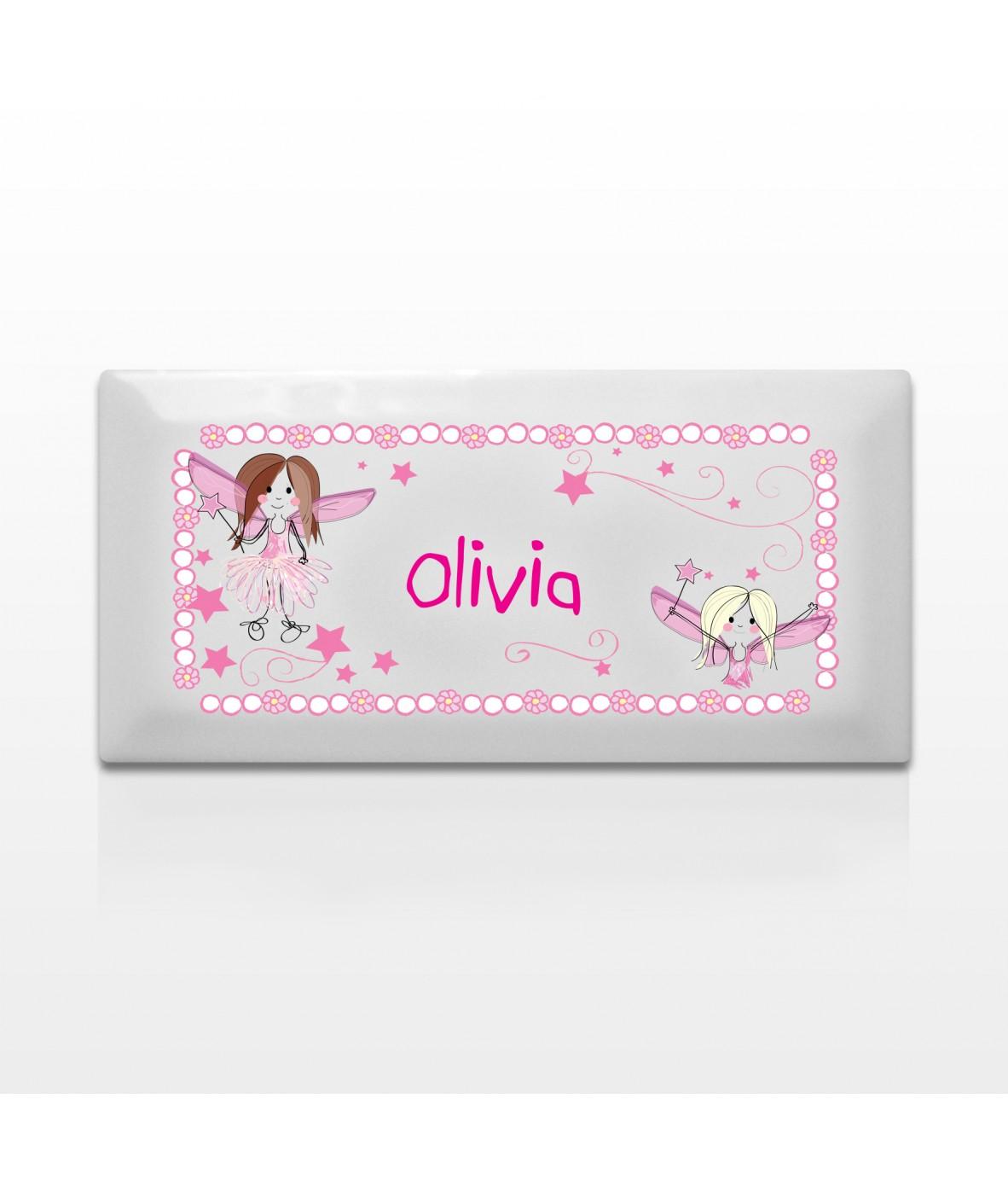 Personalised Door Plaque For Girl S Bedroom Fairy